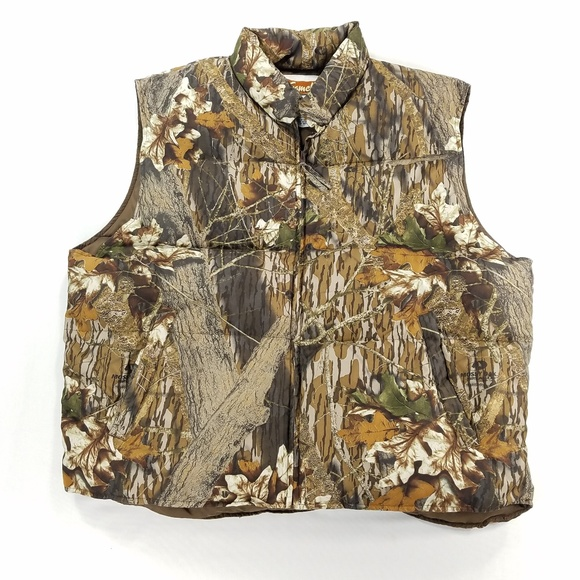 Gamehide Other - Gamehide Camouflage Camo Puffer Down Vest Jacket